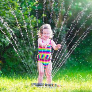 Sommer-Dusche